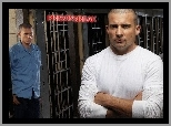 cele, Wentworth Miller, Dominic Purcell, Prison Break, kraty